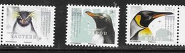 TAAF , 2019, MNH, PENGUINS, 3v - Pingouins & Manchots