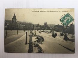 L'HIVER à GUERET- Le Jardin Public Vu De La Promenade - Guéret