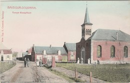 BAUDOUR DOUVRAIN Prés De Sirault Et Tertre.  Temple Evangélique. Marcivici Couleur - Belgique