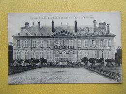 CHAUSSY. Le Château De Villarceaux. - Autres Communes