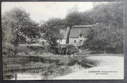 CPA 56 GUEMENE - Pont De Pechery Sur Le Scorff - Coll. Le Cunt 2  - Réf X 06 - Guemene Sur Scorff