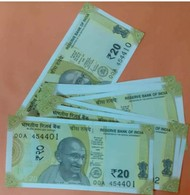 New 20 RS..see Sample.. India ..@@ Price For 1note ..@# - India