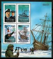 Chile 1991 / Ships Boats MNH Barcos Versand Bateaux / Cu12227  36 - Barcos