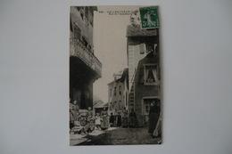CPA 12 AVEYRON SALLES CURAN. Rue De L Académie. 1911. - Francia