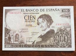 SPAGNA SPAIN 100 PESETAS 19/11/1965 UNC - [ 3] 1936-1975 : Regime Di Franco