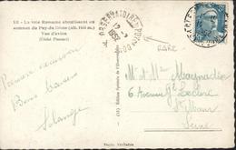 YT 810 Marianne Gandon 8 F Bleu CAD Rare Agence Observatoire Du Puy De Dôme 12 7 1952 Clermont Ferrand 14 7 52 - Postmark Collection (Covers)