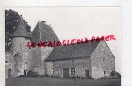 24 - LE CHATEAU DE BIRON    -RARE PHOTO ORIGINALE - Places