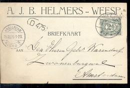 Weesp - AJB Helmers - 1909 - Weesp