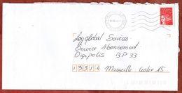 Brief, Marianne, MS Fontenay Le Fleury, 2000 (73297) - Poststempel (Briefe)