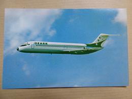 OZARK  DC 9      AIRLINE ISSUE / CARTE COMPAGNIE - 1946-....: Era Moderna