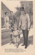 KAISER FRANZ JOSEF Mit Enkelkind - Spruchkarte Um 1905 - Familles Royales