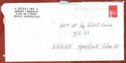 Brief, Marianne, MS Nice CTC, 2000 (73298) - Poststempel (Briefe)