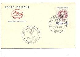ITALIE FDC 1979 ALBERT EINSTEIN - Albert Einstein