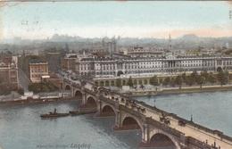 LONDON - WATERLOO BRIDGE, Gel.1905? - Houses Of Parliament