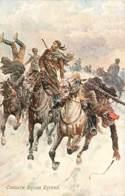 RUSSIE Cossack Rough Riders , Raphael Tuck , Oilette ,  * 425 62 - Guerre 1914-18