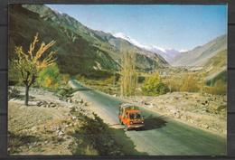 PAKISTAN POSTCARD SHAHRAH E RESHAM SILK ROAD - Pakistan
