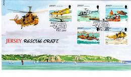 FDC - JERSEY - 2005 - Sauvetage En Mer - Jersey