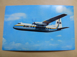 BUA  HERALD     AIRLINE ISSUE / CARTE COMPAGNIE - 1946-....: Era Moderna