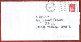 Brief, Marianne, MS Vaux En Velin Ppal, 2000 (73300) - Poststempel (Briefe)