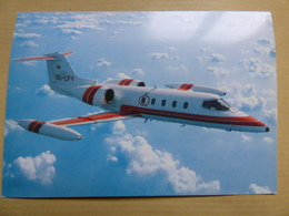 ABELAG  LEARJET    AIRLINE ISSUE / CARTE COMPAGNIE - 1946-....: Era Moderna