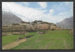 PAKISTAN POSTCARD MOUNTAIN RAKA POSHI NAGAR 7787 M - Pakistan