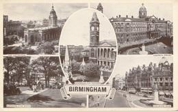 BIRMINGHAM - Mehrbilderkarte, Gel.1956 - Birmingham