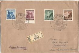 BOHEMIA Y MORAVIA PRAHA 1941 CC CERTIFICADA PVV POST AND TECHIC - Bohemia & Moravia