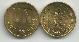 Peru 1 Un Sol De Oro  1980. High Grade - Peru