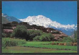 PAKISTAN POSTCARD MOUNTAIN RAKA POSHI NAGAR - Pakistan