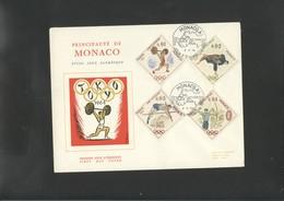 Olympic 1964 FDC Of  Monaco - Sommer 1964: Tokio