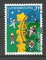 Luxembourg  2000  Mi.Nr. 1506 , EUROPA CEPT - Kinder Bauen Sternenturm - Gestempelt / Fine Used / (o) - Europa-CEPT