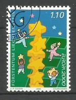 Liechtenstein  2000  Mi.Nr. 1234 , EUROPA CEPT - Kinder Bauen Sternenturm - Gestempelt / Fine Used / (o) - Europa-CEPT