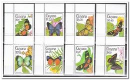 Guyana 1990, Postfris MNH, Butterflies ( Complete Set ) - Guyana (1966-...)