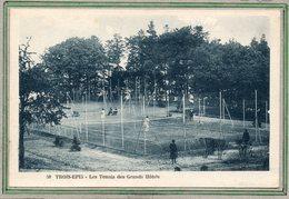 CPA - TROIS-EPIS (68) - Aspect Des Courts De Tennis Des Grands Hôtels Dans Les Années 30 - Trois-Epis