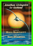 AFFICHES DE FILM - JONATHAN LIVINGSTON DANS LE GOÉLAND EN 1970 FILM DE HALL BARTLETT & MUSIQUE DE NEIL DIAMOND - Affiches Sur Carte