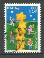 Italien / Italia  2000  Mi.Nr. 2702 , EUROPA CEPT - Kinder Bauen Sternenturm - Gestempelt / Fine Used / (o) - Europa-CEPT
