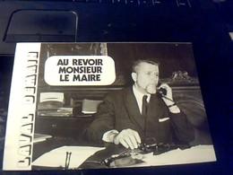 Document Hommage Au Maire De Laval Robert Buron Ancien Ministre Deputè MRP  Intitulè Au Revoir Monsieur Le Maire 1973 - Programmi