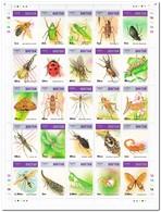 Bhutan 1997, Postfris MNH, Insects - Bhutan