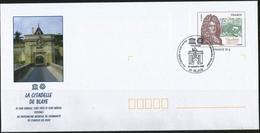 Enveloppe Complète - La Citadelle De Blaye Au Patrimoine Mondial - 28-09-2008 - Entiers Postaux