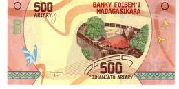 Madagascar P.99 500 Ariaiy 2017  Unc - Madagascar