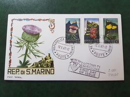 (36296) F.D.C. SAN MARINO  1967 - FDC