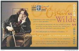 "Irlande 2000 Bloc  N°36 Oscar Wilde Surchargé ""stamp Show London"" - Blocks & Sheetlets"