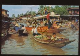 Thailand - Wad Sai Floating Market - Dhonburi [AA43-0.164 - Tailandia