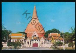 The Pagoda Of Wad Phrapathomjedee - Nakornpathom - Middle [AA43-0.173 - Tailandia