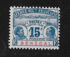 SENEGAL TAXE YT 6  NEUF** TB - Senegal (1887-1944)