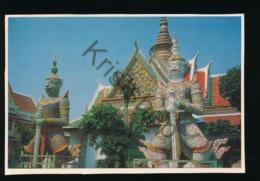 Thailand - Dhonburi - The Statue Of Gigants [AA43-0.952 - Tailandia