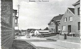 HUPPAYE  Rue Fauconval  Carte Photo. - Ramillies