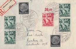 DR Orts-R-Brief Mif Minr.2x 512,4x 660,661 OR SST München 30.1.38 - Deutschland