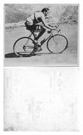 PHOTO ORIGINAL FAUSTO COPPI FORMAT 8,7 X 10,5 - Cyclisme