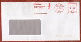 Brief, Hasler C89-540E, Draeger, 100 Pfg, Luebeck 1995 (73321) - [7] République Fédérale